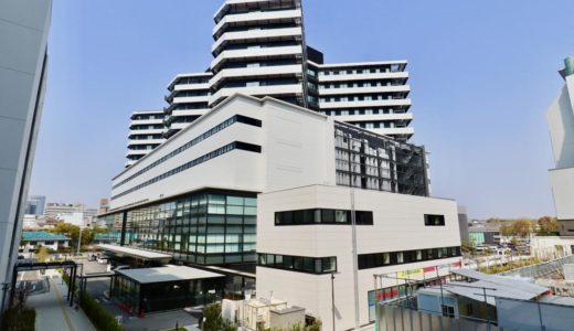 大阪国際がんセンターは「病院」「研究所」「がん対策センター」の機能が一体となった特定機能病院