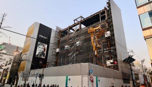【2019年11月竣工】(仮称)大阪Mプロジェクト「ルイ・ヴィトン」が御堂筋沿いに建設中の複合ビル計画の状況 19.04