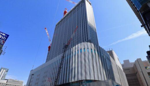 【2020年初春開業予定】(仮称)ヨドバシ梅田タワー計画の状況 19.04