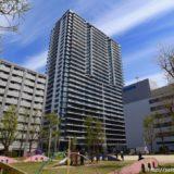 竣工したシティタワー東梅田パークフロントの状況 19.04