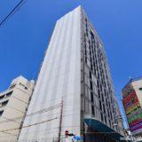 NTT Com「大阪第6データセンター」新日本橋ビル(仮称)新築工事の状況 19.04