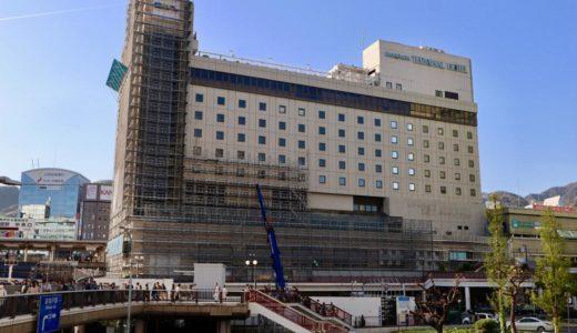 【2020年5月まで】三宮ターミナルビル解体工事の状況 19.04