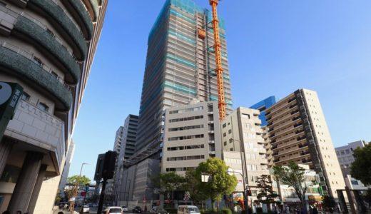 ザ・パークハウス 神戸タワーの建設状況 19.04