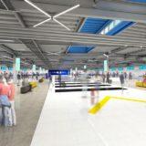 【 2019年9月20日オープン】セントレア(中部国際空港)第2ターミナルビル(T2)の建設状況 15.05