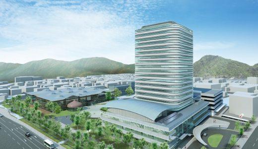 【2021年3月竣工】岐阜市新庁舎建設事業の建設状況 19.05