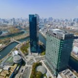 TWIN21最上階から見た大阪都心の眺め Version.2019春