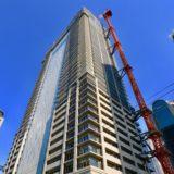 【2020年3月竣工】ブランズタワー梅田 Northの建設状況 19.05