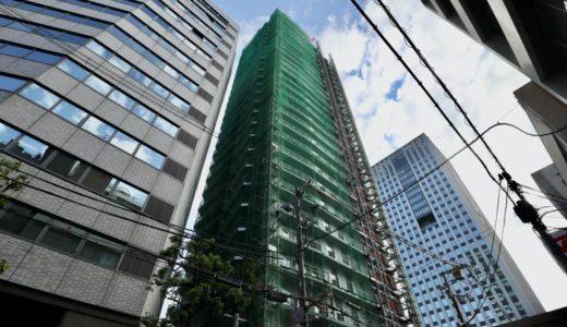 (仮称)ユニゾインエクスプレス大阪南本町の建設工事の状況【2020年12月竣工】