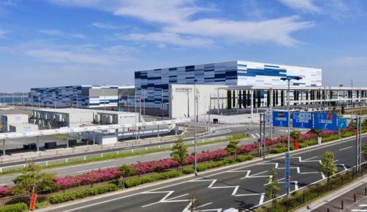 【2019年9月開業】愛知県国際展示場(Aichi Sky Expo)の建設状況 19.05