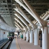 富山駅 あいの風鉄道の高架化完成、駅の南北分断がついに解消!(下りホーム編)