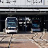 富山市路面電車南北接続事業の状況 19.05