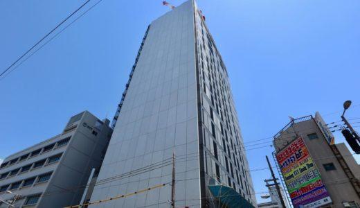 NTT Com「大阪第6データセンター」新日本橋ビル(仮称)新築工事の状況 19.05