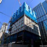 【2020年初夏開業】(仮称)堂島浜プロジェクトー パレスホテルの新ブランドホテルの建設状況 19.05