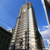 【2019年10月オープン】ホテルWBF新大阪スカイタワーの建設状況 19.05