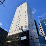 からくさホテルグランデ新大阪タワーの建設状況 19.05