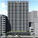 【2021年春開業予定】(仮称)ホテル京阪 新天満橋の状況 19.06