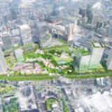 「うめきた2期地区北・南街区開発事業」の環境影響評価方法書を公表。今後、容積率の緩和により規模が拡大される?