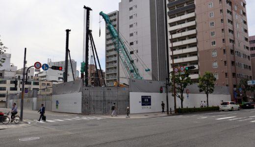 【2023年03月竣工】日本IBM大阪事業所跡地の再開発(仮称)西区靭本町計画の状況 19.06