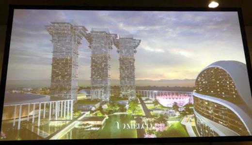 【大阪IR】メルコリゾーツが新たな夢洲IRの完成予想図を発表、人工島にヘブンを作る構想が明らかに