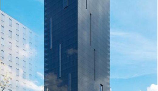 【2020年10月竣工】W OSAKA(W大阪)マリオットと積水ハウスが御堂筋沿いに建設中のWホテルの状況 19.06