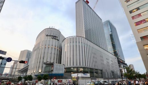 【2020年初春開業予定】ヨドバシ梅田タワー建設の状況 19.06