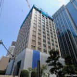 【2020年初夏開業】(仮称)堂島浜プロジェクトー パレスホテルの新ブランドホテルの建設状況 19.06