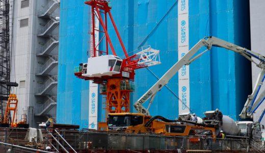 【2022年3月竣工】ラ・トゥールが梅田に進出!(仮称)梅田曽根崎計画の建設状況 19.06