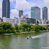 G20 大阪サミット開催に伴い大阪府警が水上パトロールを実施中!