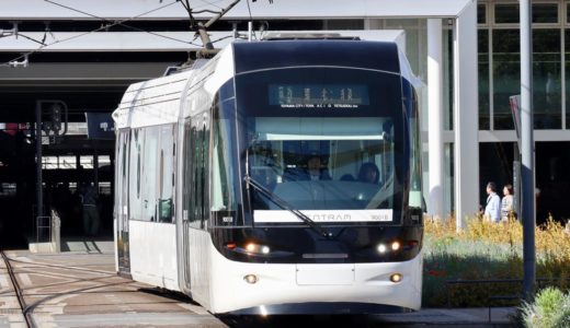 富山地方鉄道9000形電車ーセントラム