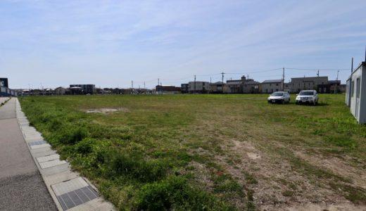 北陸初となる『Zepp金沢(仮称)』の計画地の状況 19.05