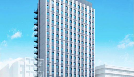 【2020年7月開業】関電不動産開発が曽根崎に建設中のホテル エルシエントの状況 19.06