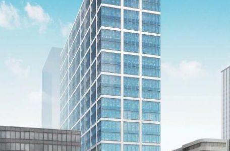 【2021年10月竣工予定】(仮称)本町サンケイビルの建設状況 19.07