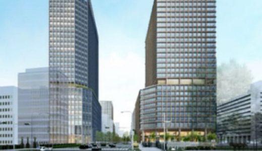 【2024~25年完成予定】大阪・淀屋橋ツインタワー計画の西側敷地の完成イメージパースが公開!