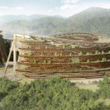 大林組の「LOOP50」建設構想は50年かけて循環する巨大木造コンパクトシティ