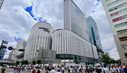 【2019年秋開業予定】ヨドバシ梅田タワー建設の状況 19.07
