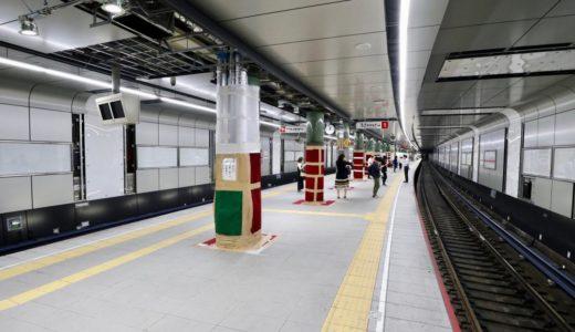 御堂筋線ー中津駅グランドリニューアル工事の状況 19.07