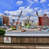 【2022年4月開業予定】ついに着工した星野リゾート「OMO7 大阪新今宮」の建設状況 19.07