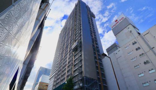 【2019年08月竣工】アパホテル&リゾート〈御堂筋本町駅タワー〉の状況 19.07