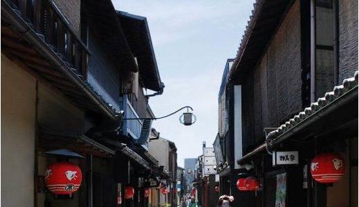 新工法「小型ボックス活用埋設方式」を採用した「先斗町通無電柱化事業」の状況 19.08