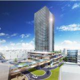 JR千里丘駅前に地上32階建ての超高層ビル!千里丘駅西地区市街地再開発事業の計画案が公表