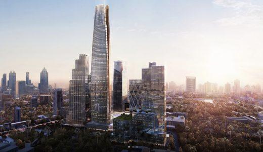 バンコクの再開発「ONE BANGKOK」は高さ430mの超高層ビル、総延床面積180万m²、投資額は約4200億円!