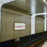 【速報】御堂筋線 中津駅のアクリル導光板照明がついに全点灯!苔が生えていた駅が近未来的な駅に変身!