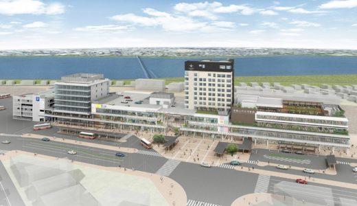 【2020年4月グランドオープン】キーノ和歌山  和歌山市駅前再開発の建設状況 19.09