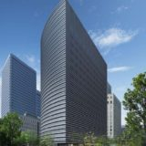 【2021年4月竣工予定】京阪神OBPビル新築工事の状況 19.09