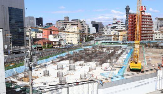 【2022年4月開業予定】ついに着工した星野リゾート「OMO7 大阪新今宮」の建設状況 19.09