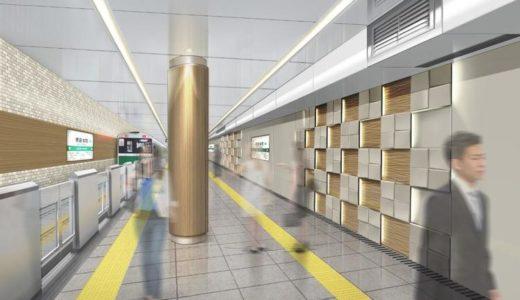 グランドリニューアルされる堺筋本町駅の状況 20.10