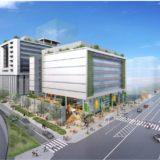医誠会 IMV計画「もと扇町庁舎用地・南側用地」再開発の状況 21.05