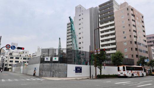 【2023年03月竣工】日本IBM大阪事業所跡地の再開発(仮称)西区靭本町計画の状況 19.09