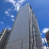 NTT Com「大阪第6データセンター」新日本橋ビル(仮称)新築工事の状況 19.09