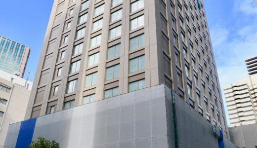 【2020年初夏開業】(仮称)堂島浜プロジェクトー パレスホテルの新ブランドホテルの建設状況 19.09